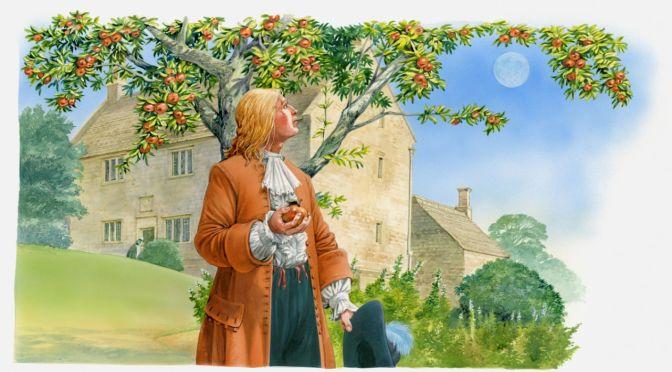 Newton descobriu Teoria da Gravidade durante quarentena em 1665